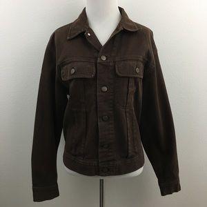 🆕 DKNY Jeans | Dark Brown Denim Jacket